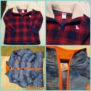 Bundle of two 18M boy sweaters